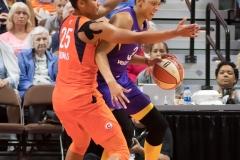 WNBA - Connecticut Sun 89 vs. Los Angeles Sparks 86 (96)