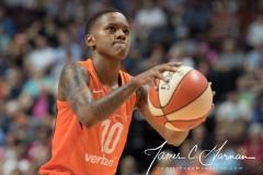 WNBA - Connecticut Sun 89 vs. Los Angeles Sparks 86 (97)