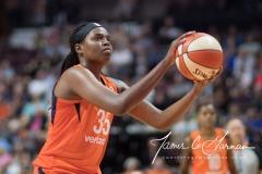 WNBA - Connecticut Sun 89 vs. Los Angeles Sparks 86 (99)