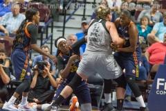 WNBA Connecticut Sun 89 vs San Antonio Stars 62 (14)