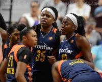 WNBA Connecticut Sun 89 vs San Antonio Stars 62 (15)