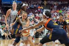 WNBA Connecticut Sun 89 vs San Antonio Stars 62 (23)