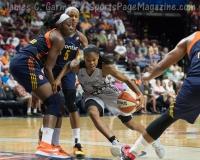 WNBA Connecticut Sun 89 vs San Antonio Stars 62 (25)