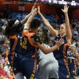 WNBA Connecticut Sun 89 vs San Antonio Stars 62 (28)