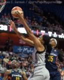 WNBA Connecticut Sun 89 vs San Antonio Stars 62 (32)