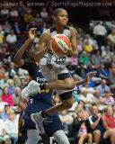 WNBA Connecticut Sun 89 vs San Antonio Stars 62 (36)
