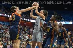 WNBA Connecticut Sun 89 vs San Antonio Stars 62 (44)