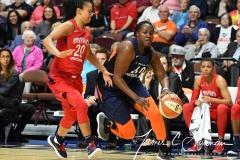 WNBA - Connecticut Sun 91 vs. Washington Mystics 95 (102)