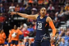 WNBA - Connecticut Sun 91 vs. Washington Mystics 95 (105)
