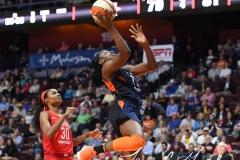 WNBA - Connecticut Sun 91 vs. Washington Mystics 95 (108)