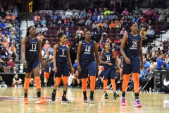 WNBA - Connecticut Sun 91 vs. Washington Mystics 95 (110)