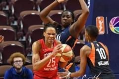 WNBA - Connecticut Sun 91 vs. Washington Mystics 95 (112)