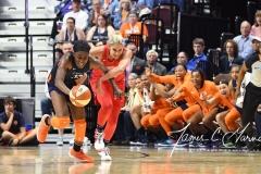 WNBA - Connecticut Sun 91 vs. Washington Mystics 95 (115)