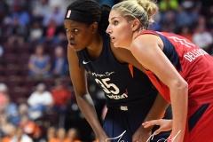 WNBA - Connecticut Sun 91 vs. Washington Mystics 95 (117)