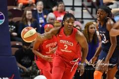 WNBA - Connecticut Sun 91 vs. Washington Mystics 95 (20)