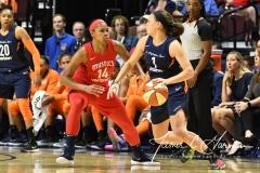 WNBA - Connecticut Sun 91 vs. Washington Mystics 95 (28)