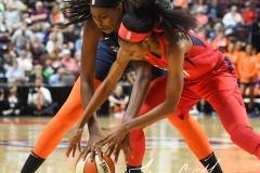 WNBA - Connecticut Sun 91 vs. Washington Mystics 95 (61)