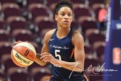 WNBA - Connecticut Sun 91 vs. Washington Mystics 95 (62)