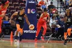 WNBA - Connecticut Sun 91 vs. Washington Mystics 95 (64)