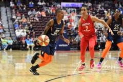 WNBA - Connecticut Sun 91 vs. Washington Mystics 95 (65)