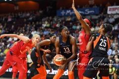 WNBA - Connecticut Sun 91 vs. Washington Mystics 95 (69)