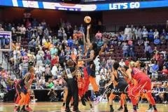 WNBA - Connecticut Sun 91 vs. Washington Mystics 95 (7)