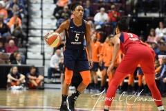 WNBA - Connecticut Sun 91 vs. Washington Mystics 95 (71)