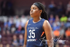 WNBA - Connecticut Sun 91 vs. Washington Mystics 95 (72)