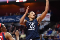 WNBA - Connecticut Sun 91 vs. Washington Mystics 95 (73)