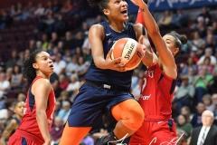WNBA - Connecticut Sun 91 vs. Washington Mystics 95 (76)