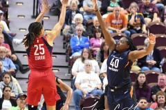 WNBA - Connecticut Sun 91 vs. Washington Mystics 95 (78)