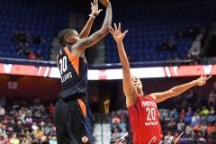 WNBA - Connecticut Sun 91 vs. Washington Mystics 95 (80)