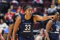 WNBA - Connecticut Sun 91 vs. Washington Mystics 95 (81)