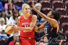 WNBA - Connecticut Sun 91 vs. Washington Mystics 95 (82)