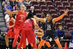 WNBA - Connecticut Sun 91 vs. Washington Mystics 95 (83)