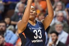 WNBA - Connecticut Sun 91 vs. Washington Mystics 95 (85)
