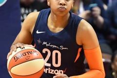 WNBA - Connecticut Sun 91 vs. Washington Mystics 95 (92)