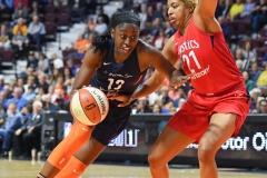 WNBA - Connecticut Sun 91 vs. Washington Mystics 95 (93)