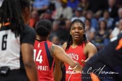 WNBA - Connecticut Sun 91 vs. Washington Mystics 95 (99)
