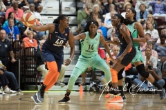 WNBA - Connecticut Sun 92 vs. New York Liberty 77 (10)