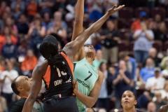 WNBA - Connecticut Sun 92 vs. New York Liberty 77 (2)