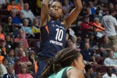 WNBA - Connecticut Sun 92 vs. New York Liberty 77 (46)