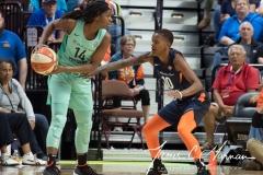 WNBA - Connecticut Sun 92 vs. New York Liberty 77 (50)