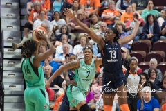 WNBA - Connecticut Sun 92 vs. New York Liberty 77 (51)