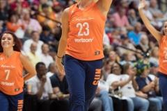 WNBA - Connecticut Sun 92 vs. New York Liberty 77 (64)