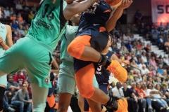 WNBA - Connecticut Sun 92 vs. New York Liberty 77 (67)