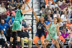 WNBA - Connecticut Sun 92 vs. New York Liberty 77 (68)