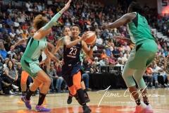 WNBA - Connecticut Sun 92 vs. New York Liberty 77 (72)