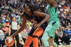WNBA - Connecticut Sun 92 vs. New York Liberty 77 (73)