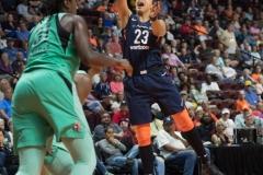 WNBA - Connecticut Sun 92 vs. New York Liberty 77 (74)